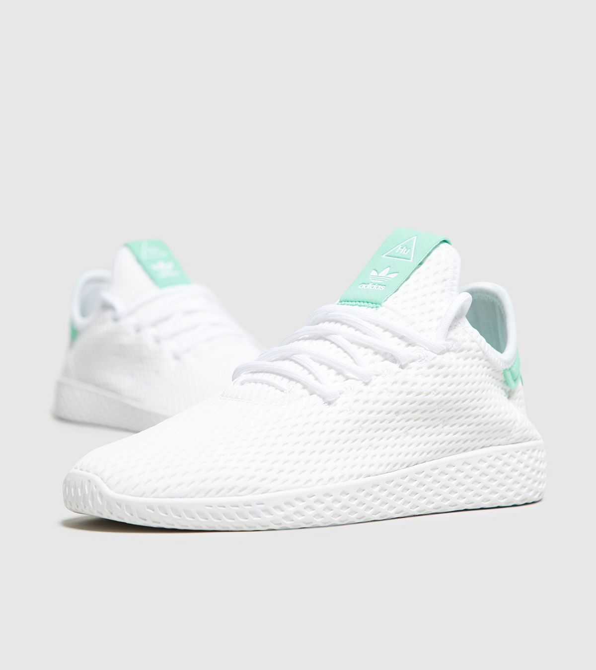 d76564d1f8cee adidas Originals Pharrell Williams Tennis Hu mint green white