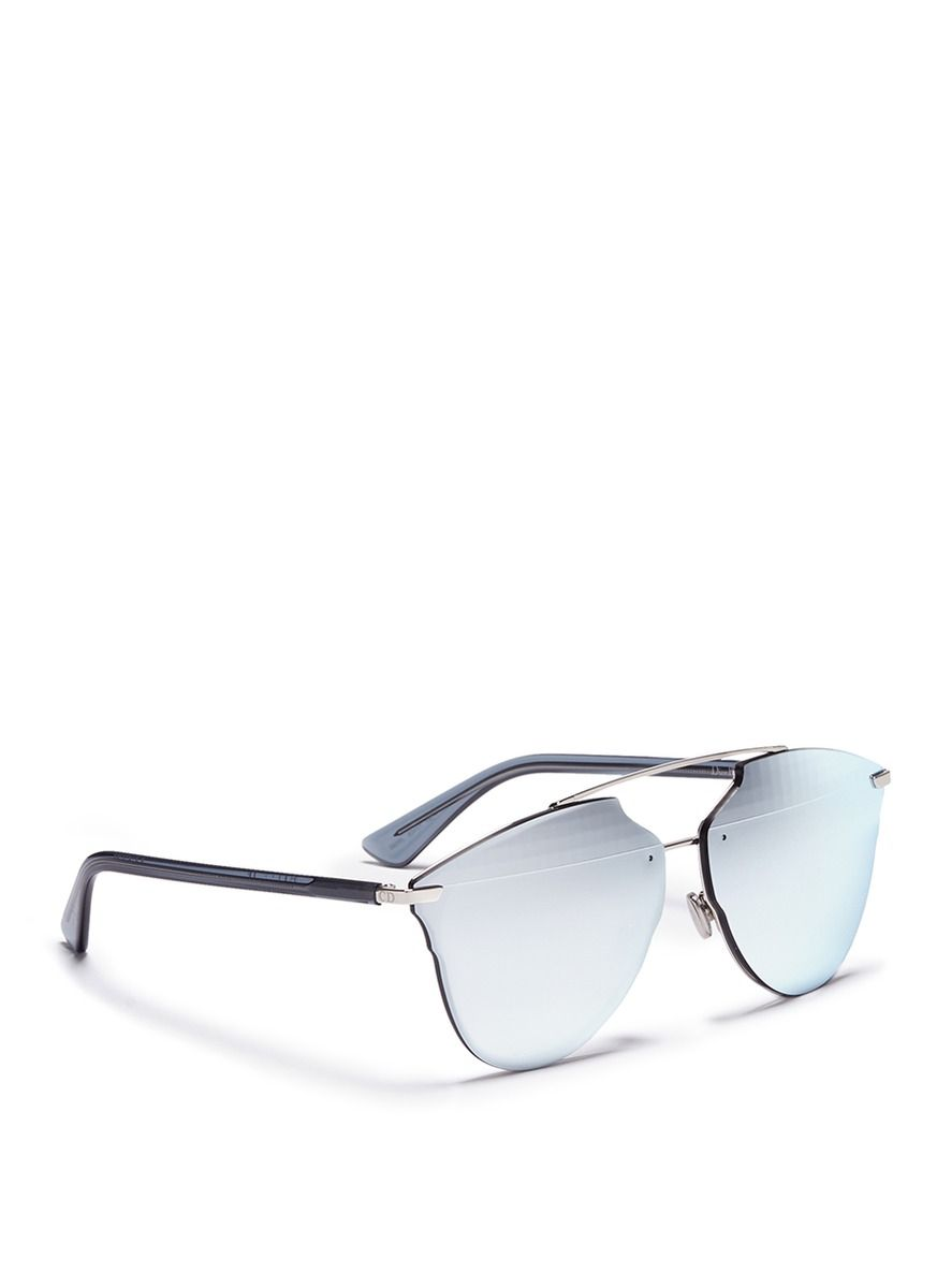 4c6a5748701a Dior -  dior Reflected  Prism Effect Mounted Mirror Lens Sunglasses