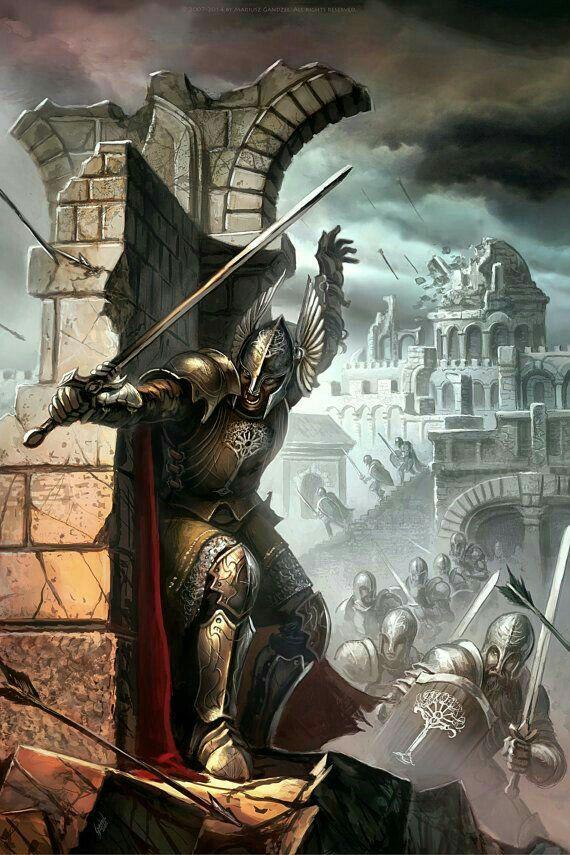 Gondorian Defense Of Osgiliath Dnd In 2019 Pinterest Lord Of