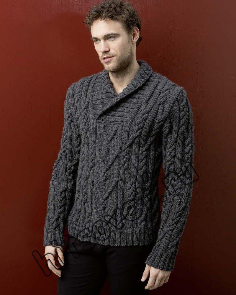 Мужской джемпер поло, фото 1.   sweter de hombre   Pinterest   Para ...