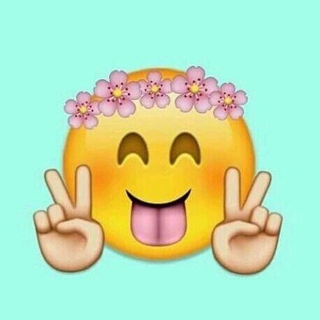 Imagen De Peace Emoji And Flowers Emoji Pictures Emoji Wallpaper Emoji Drawings
