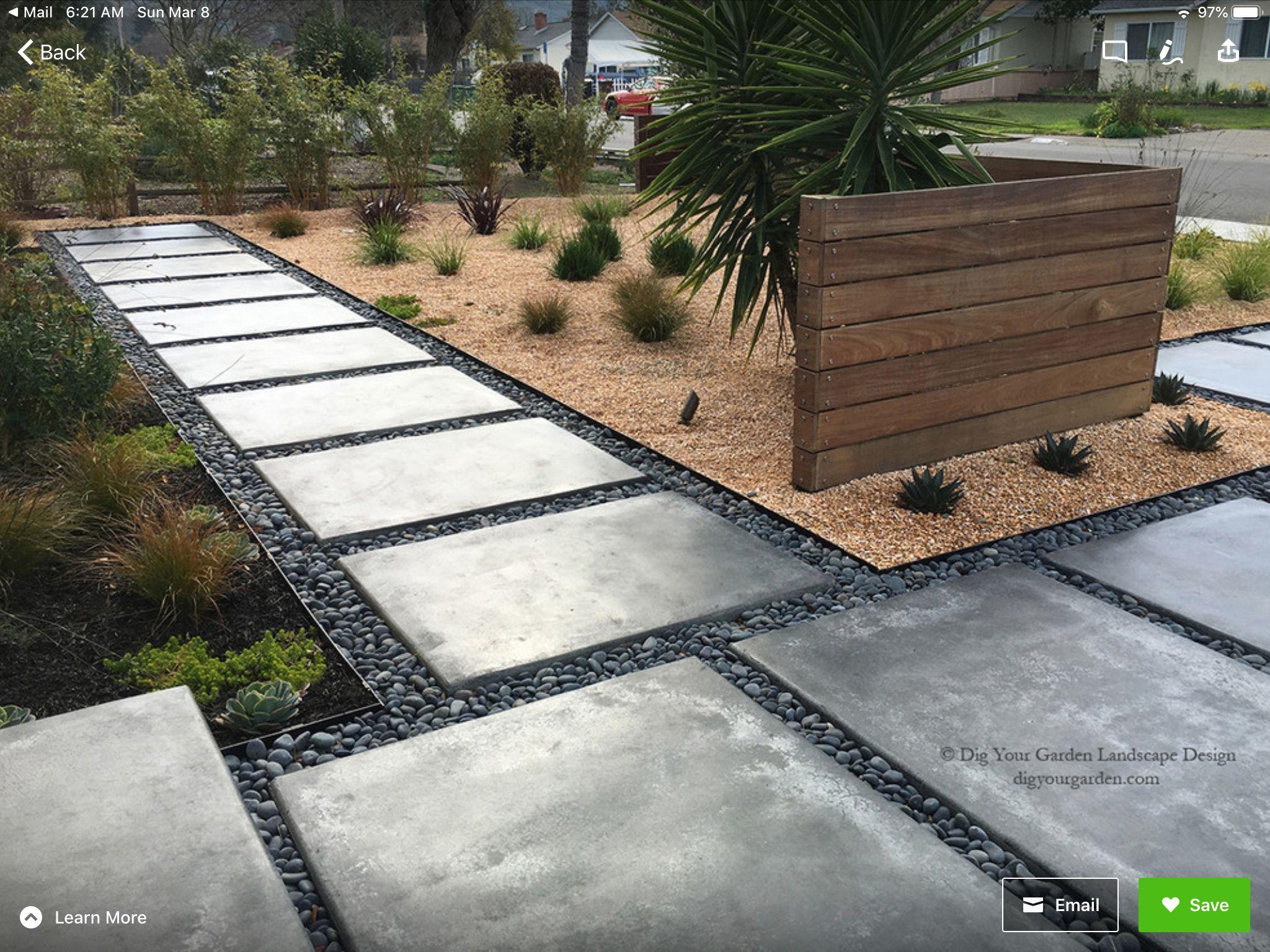 Pin By Philip Johnston On Garden Spaces In 2020 Modern Landscape Design Front Yard Modern Landscaping Modern Landscape Design