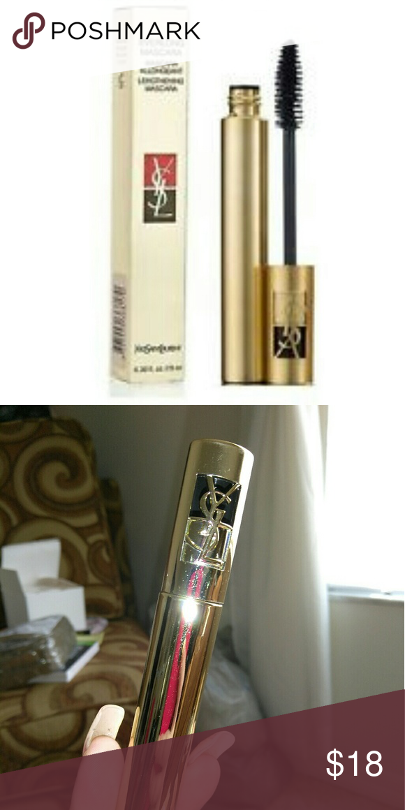 e00ba4a8280 YVES SAINT LAURENT EVERLONG MASCARA NEW New and unused in box in shade back  from YSL this mascara is Beautiful!!! Yves Saint Laurent Makeup Mascara