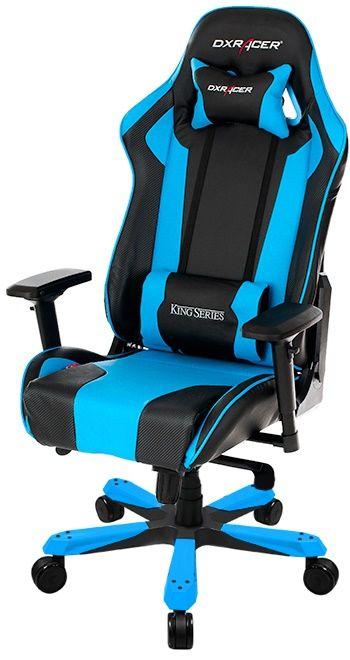 dxracer king gaming chair oh kf06 nb nieuw pinterest gaming setup and men cave. Black Bedroom Furniture Sets. Home Design Ideas