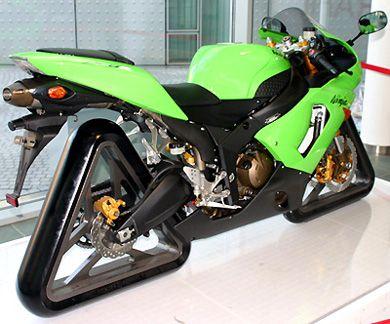 The Wackiest Motorcycles Of All Time Kawasaki Ninja Hot Cars
