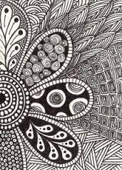 Resultado de imagen para cool designs to draw with sharpie flowers