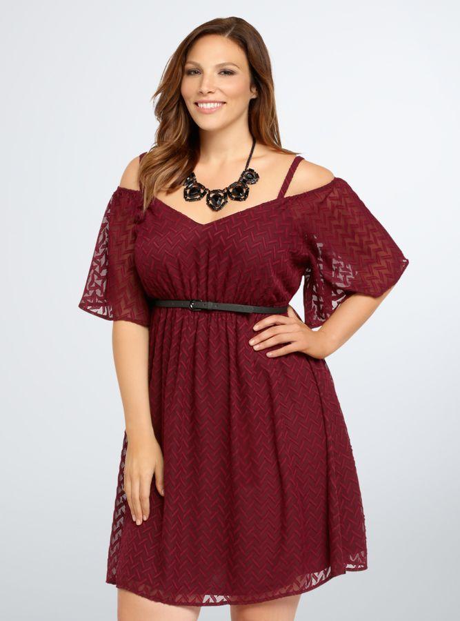 Burgundy Off The Shoulder Dresses Trending Right Now Dress It Up