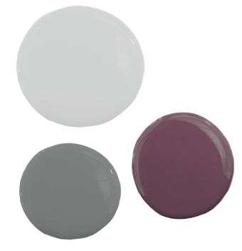 grey and purple bedroom color schemes. Light Gray, Dark And Purple Color Scheme From Pure Home Grey Bedroom Schemes R