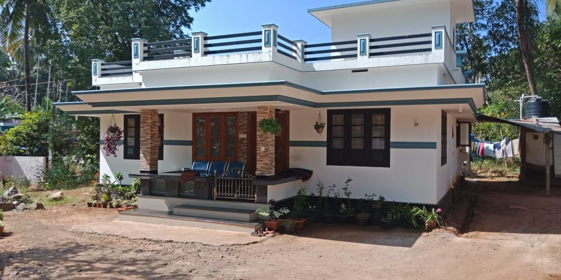 1250 Square Feet 3 Bedroom Single Floor Modern House And Plan Home Pictures In 2020 Kerala House Design Small House Design Plans Indian House Plans