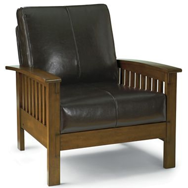 Beautiful Leather Chair, Mission   Jcpenney