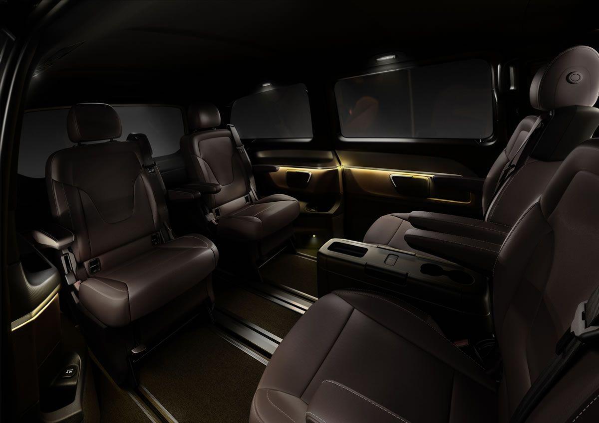 Mercedes v class gets full treatment from carlex design - 2015 Mercedes V Class Interior