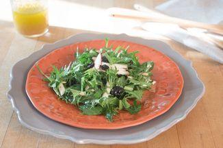 (Newsletter) Early Apple Mizuna Salad Recipe