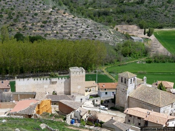 El Castillo Palacio De Los Zúñiga Es Un Palacio Fortificado Situado En La Localidad De Curiel De Duero En La Provincia De Valladolid Comu La Villa Burg Palast