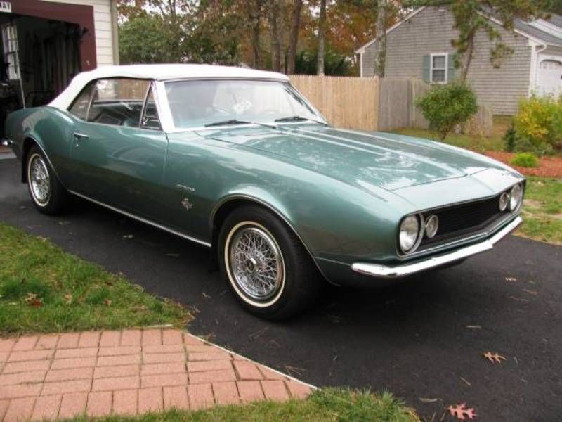 For Sale: 1967 Chevrolet Camaro, West Yarmouth, Massachusetts ...