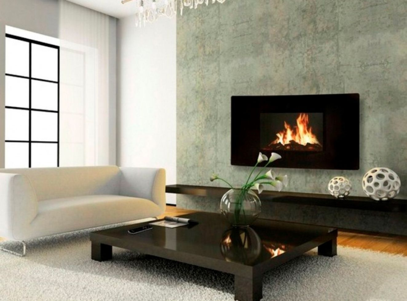 Small gas fireplace for bedroom - Small Electric Fireplace For Bedroom Simple Interior Design For Bedroom
