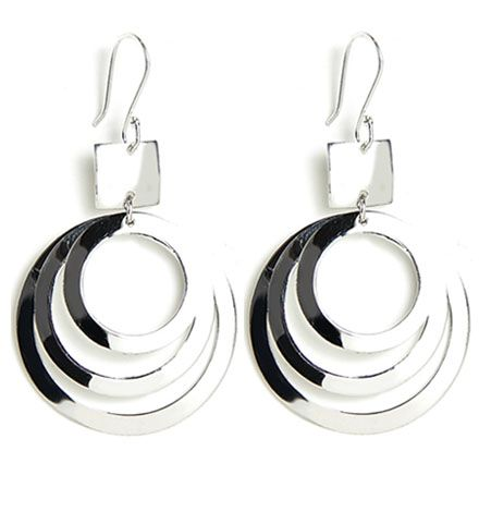 Look no further for a quirky, but charming pair of sterling silver earrings that is sure to have heads turning