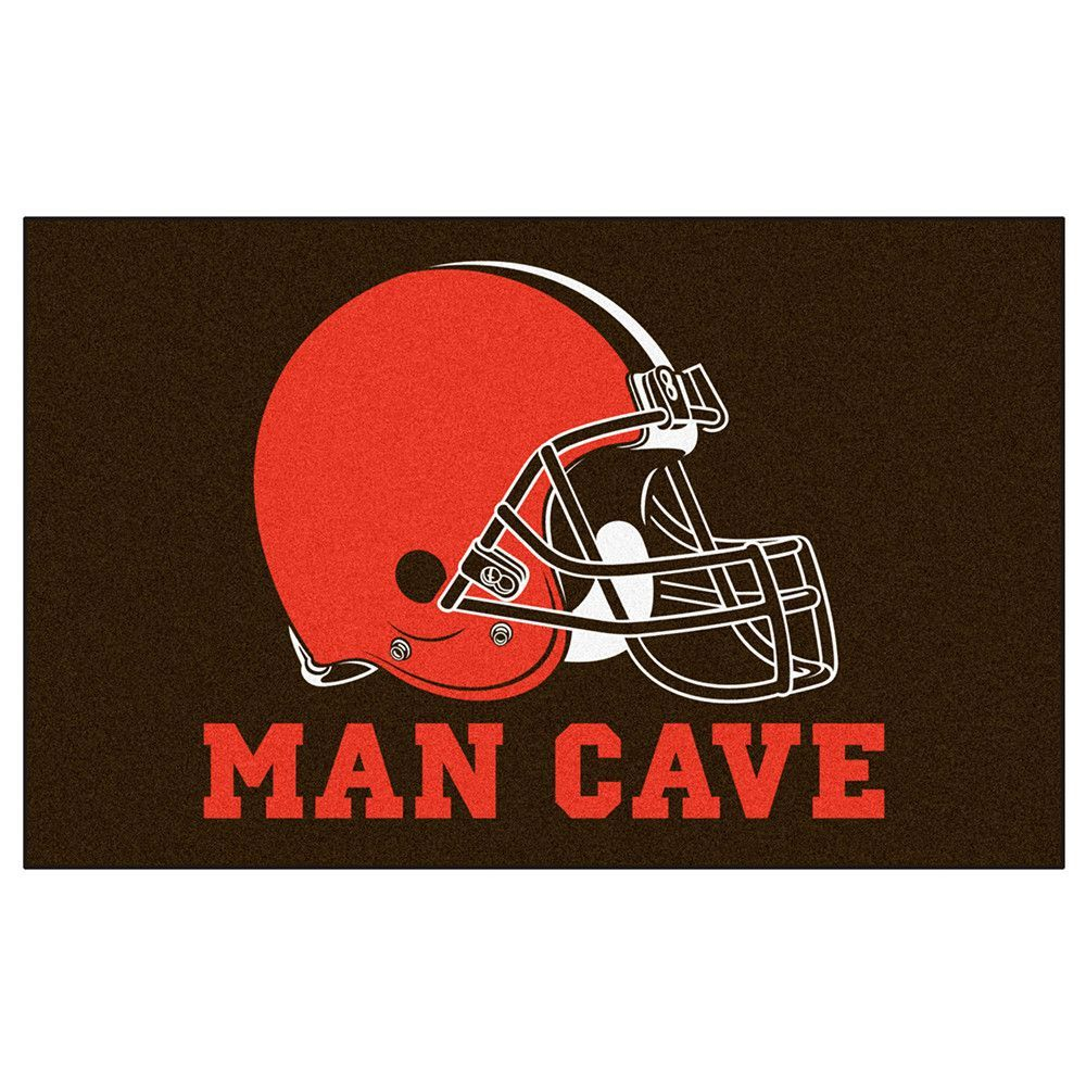 Cleveland Browns NFL Man Cave Ulti-Mat Floor Mat (60in x 96in)