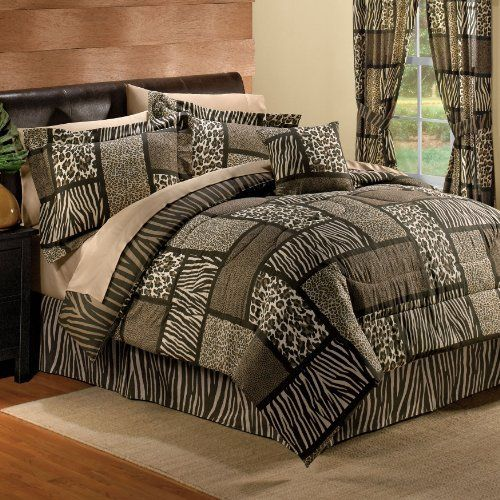Brylanehome Safari Reversible Comforter Set By Brylanehome
