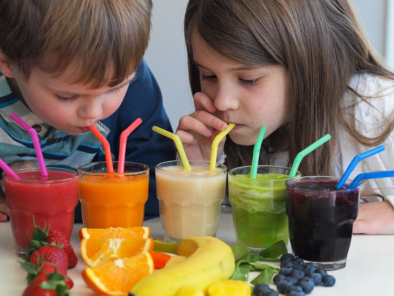 Rainbow Smoothies--Teach Your Kids about Eating The Rainbow with ...