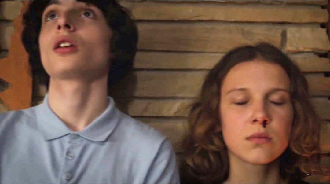 Stranger Things Mike and Eleven, Finn Wolfhard, Millie Bobby