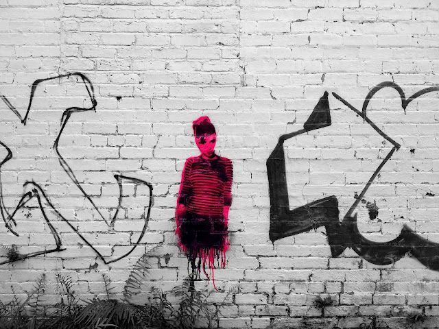Audrey Hepburn alley art. Hammond, Louisiana