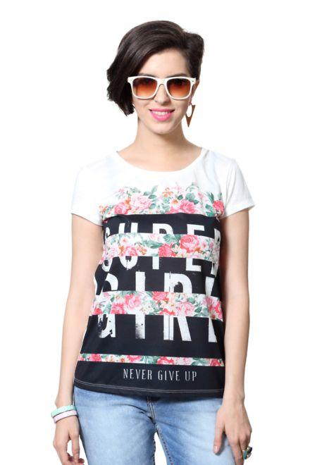 Buy Bare Denim Tees & Tops Online at Trendin.com - Shop Online for ...