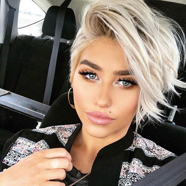70+ Best Pixie Cut 2018 – 2019 - Love this Hair #longpixiehaircuts