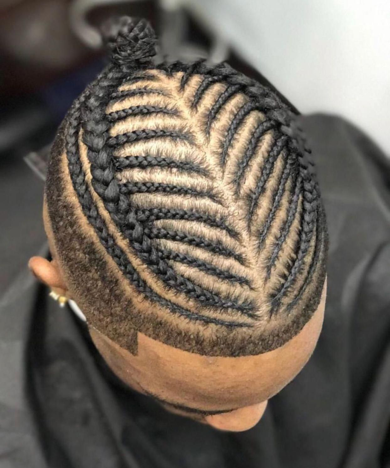 Men's Cornrows Hairstyles 2019