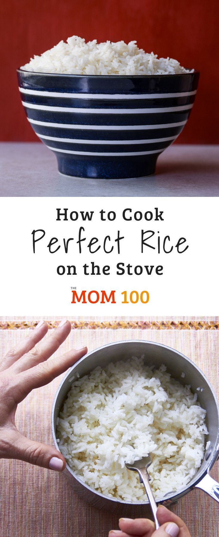 How to Cook Perfect Rice on the Stove #whitericerecipes