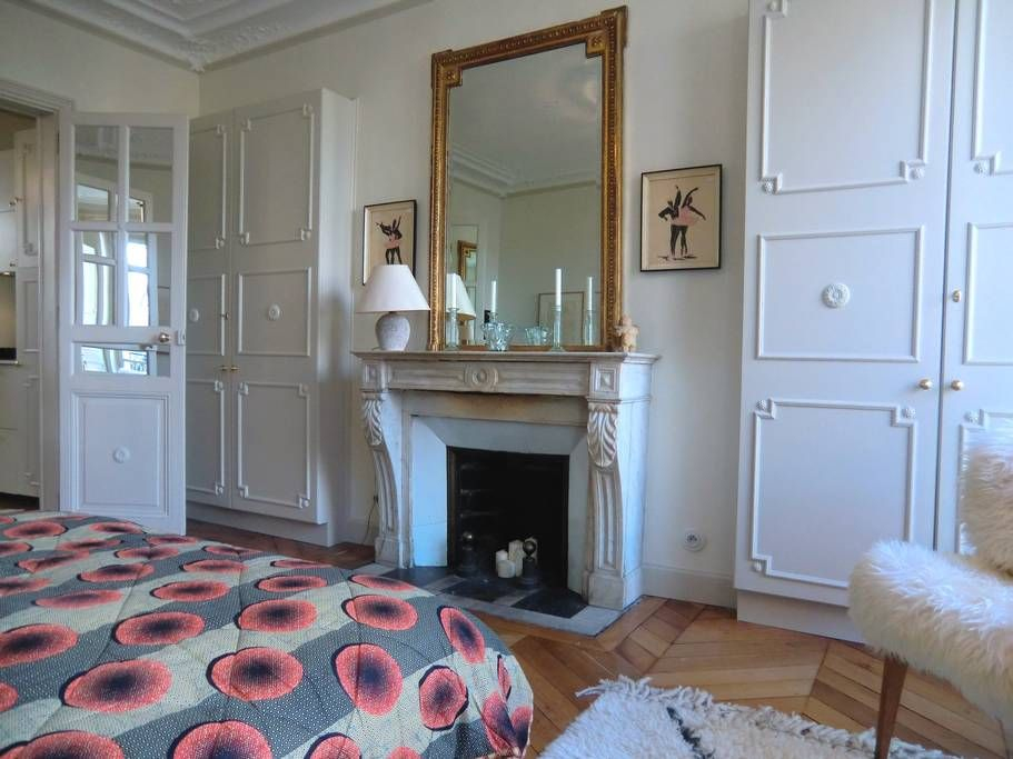 Apartment in Paris, France. Reachable by foot from both