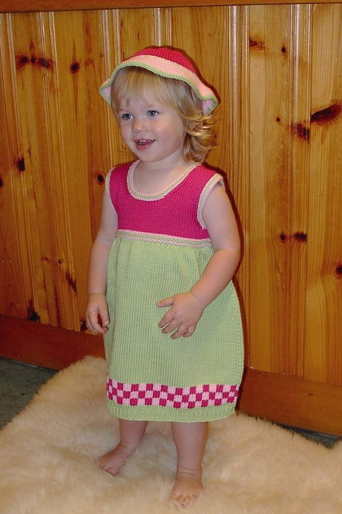 "Linda's Craftique--Linda Benne--""Little Miss"" Sundress (ages 1 - 8)"