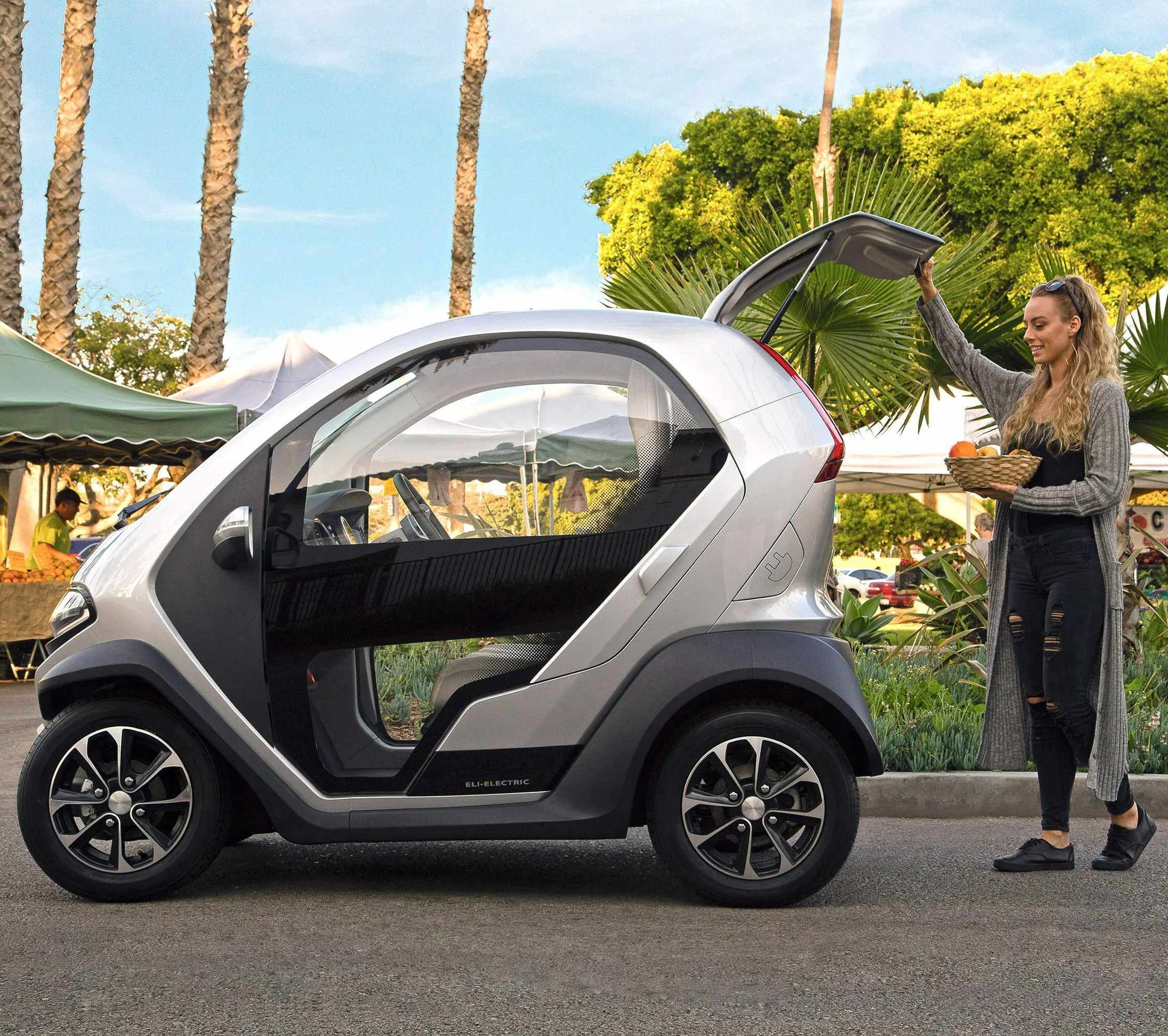 The Eli ZERO is an all-electric micro-car designed to explode preconceived notions about what a car for an urban environment should be. #ev #electriccar