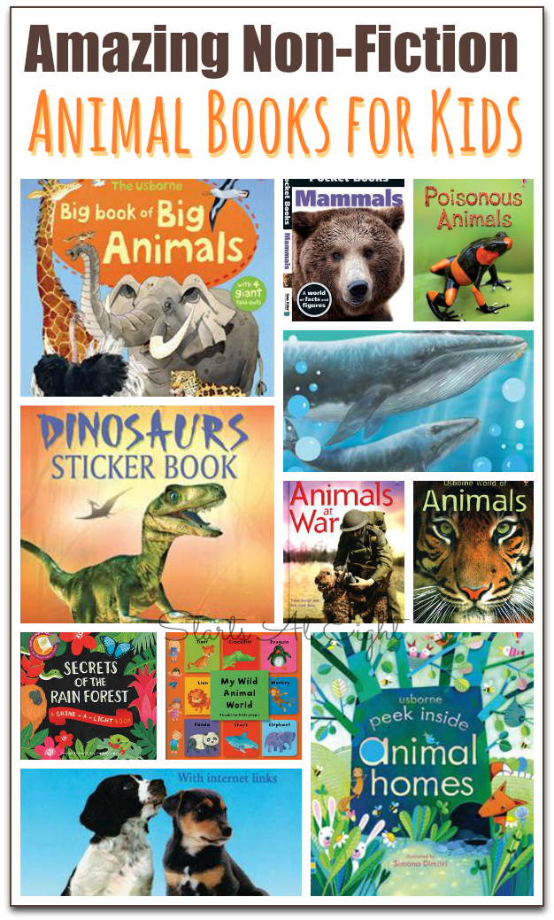 15 Awesome Non Fiction Animal Books For Kids Animal Books Usborne Books Childrens Books Activities