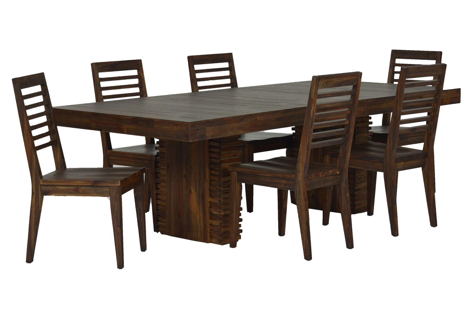 teagan 7 piece extension dining set | extensions, living spaces