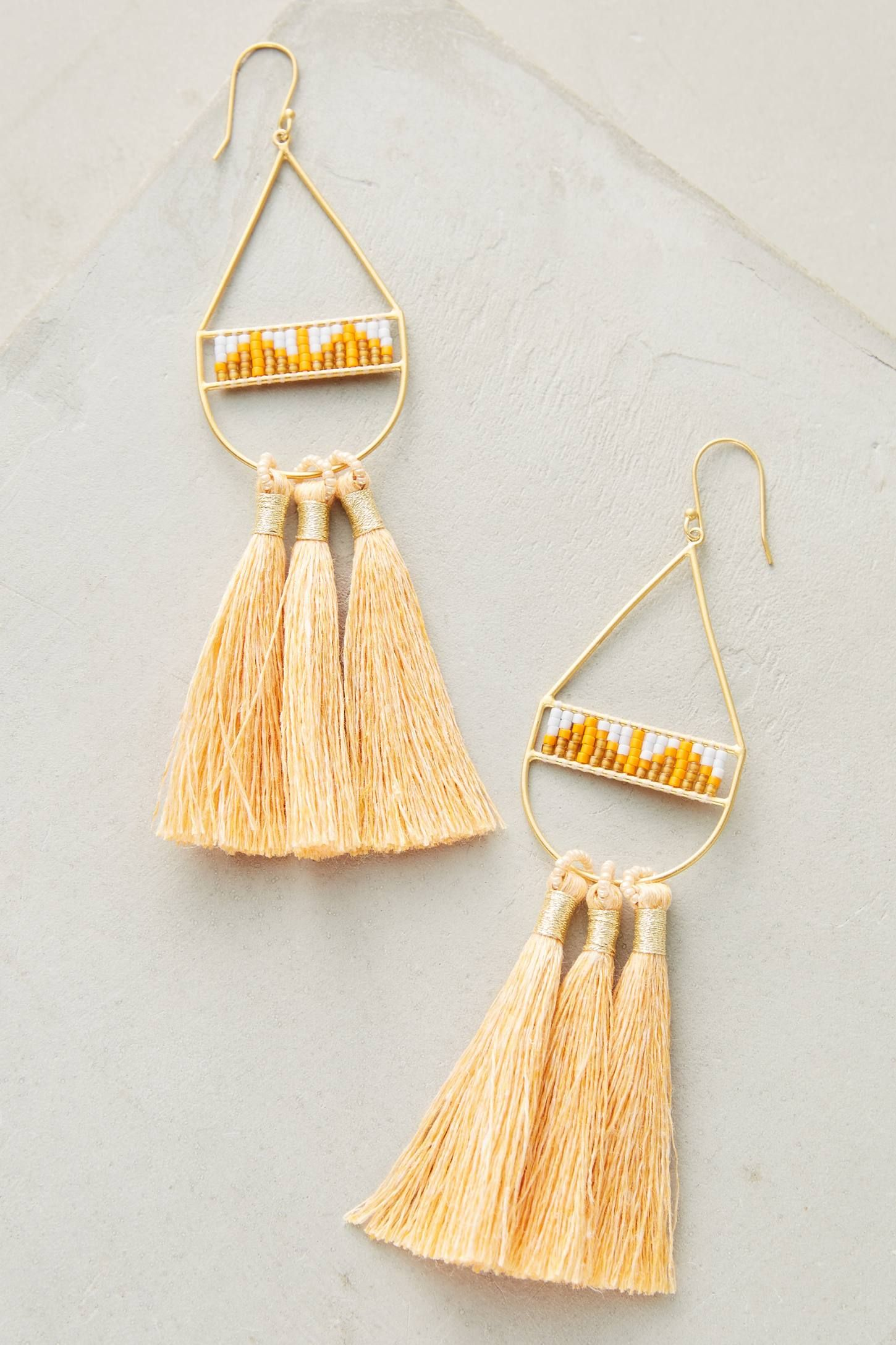 Slide View: 1: Edie Tassel Drops