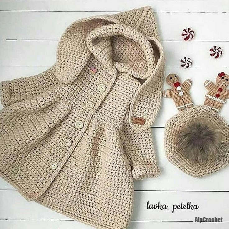 Stricken Einfache und süße Baby Cardigan kostenlose Musterbilder für 2019 #vestidosparabebédeganchillo