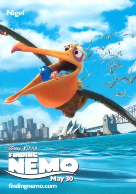 *NIGEL ~ (idea. Hang a pelican on the wall. Put stuff in ...