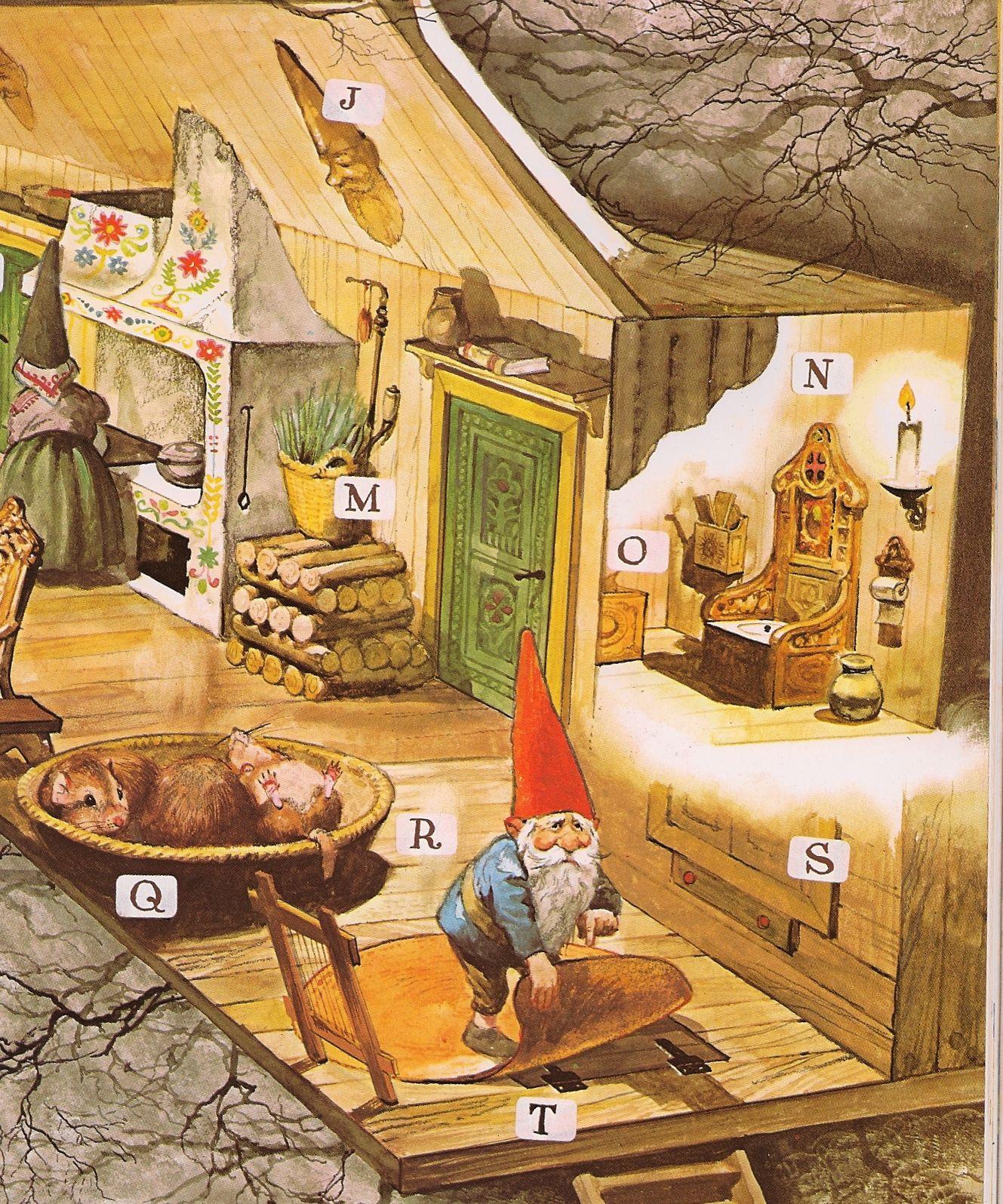 Pin Van Beck Hutchinson Op Gnomes David De Kabouter Kabouter Poortvliet