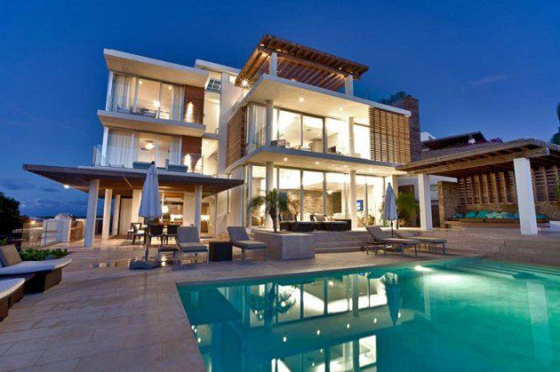 Top breathtaking luxury villas design ideas in the world dream homes houses also living rh pinterest