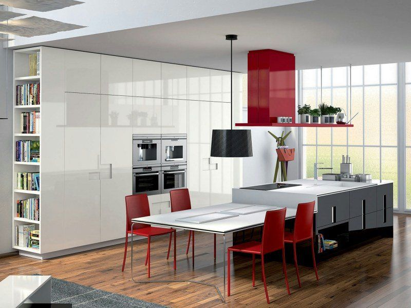 Îlot de cuisine: 50 idées venant des marques de renoms! | Hotte ...