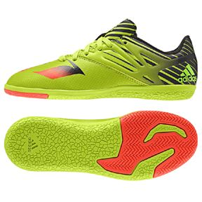 20fb285dc adidas Youth Lionel Messi 15.3 Indoor Soccer Shoes (Slime)
