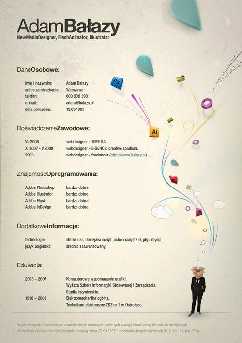 40 Stunningly Creative Resume Designs on DeviantArt Not Your