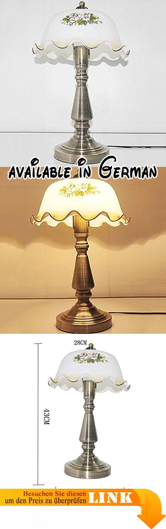 BMKY Tischlampe Retro Schlafzimmer Lampe Nachttischlampe Garten Dekoration  Kreative Studie Lampe Tischlampe.
