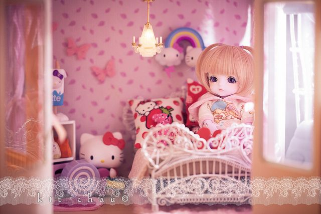 macaron and her little room <3 | Flickr - Photo Sharing!