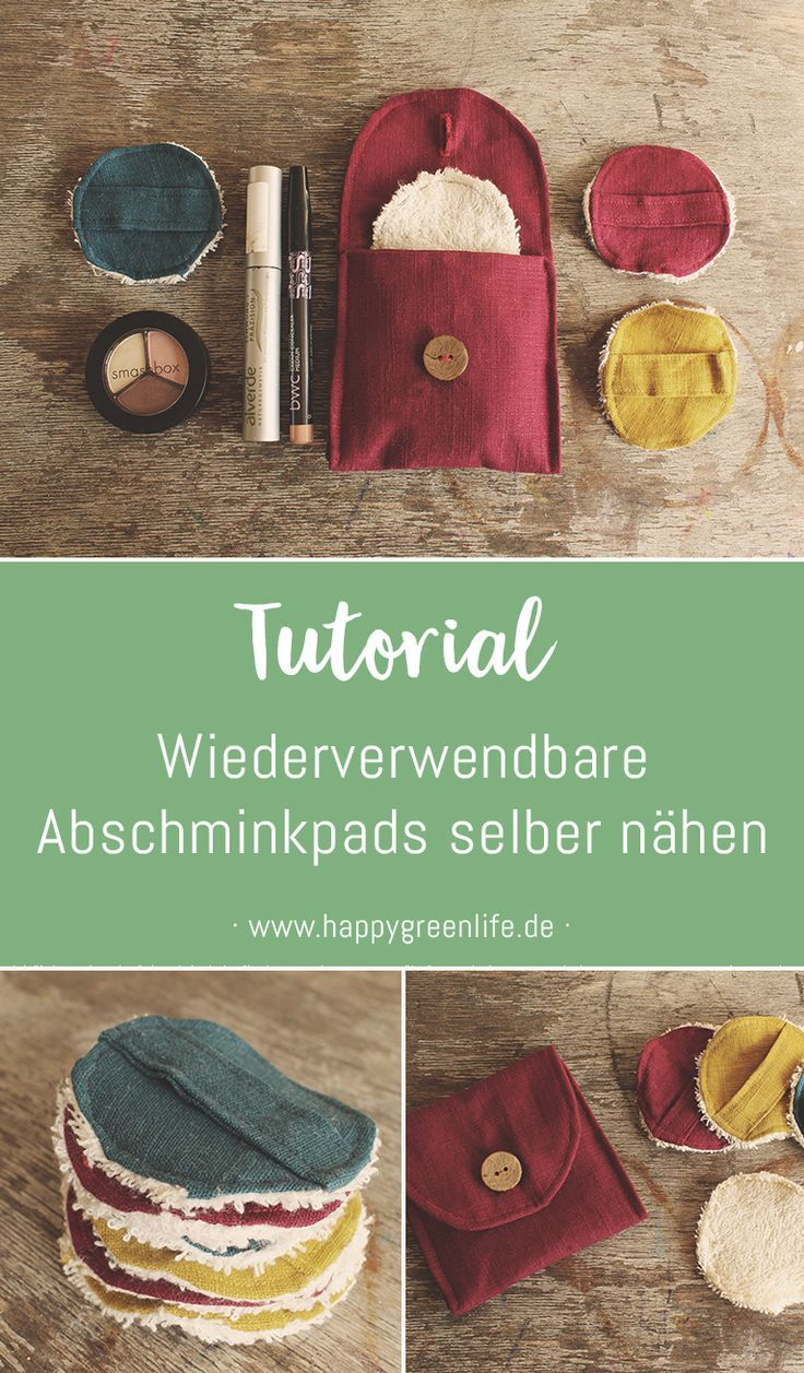 Photo of Sewing instructions: Sew reusable make-up pads yourself – Kreativlabor Berlin