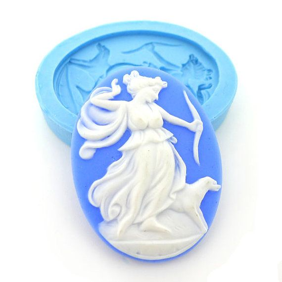 Angel Baby/'s Polymer Clay Push Molds Lot of 3 Cameo
