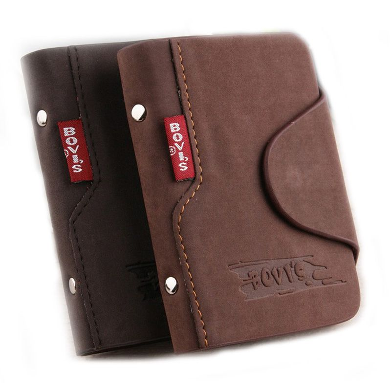 1pc Genuine Leather Business Cards Holder Credit Card Cover Bags ...