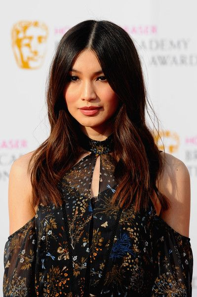 8d719aaac5 Gemma Chan Long Wavy Cut - Gemma Chan topped off her look with hippie-glam  center-parted waves when she attended the House of Fraser BAFTA TV Awards.