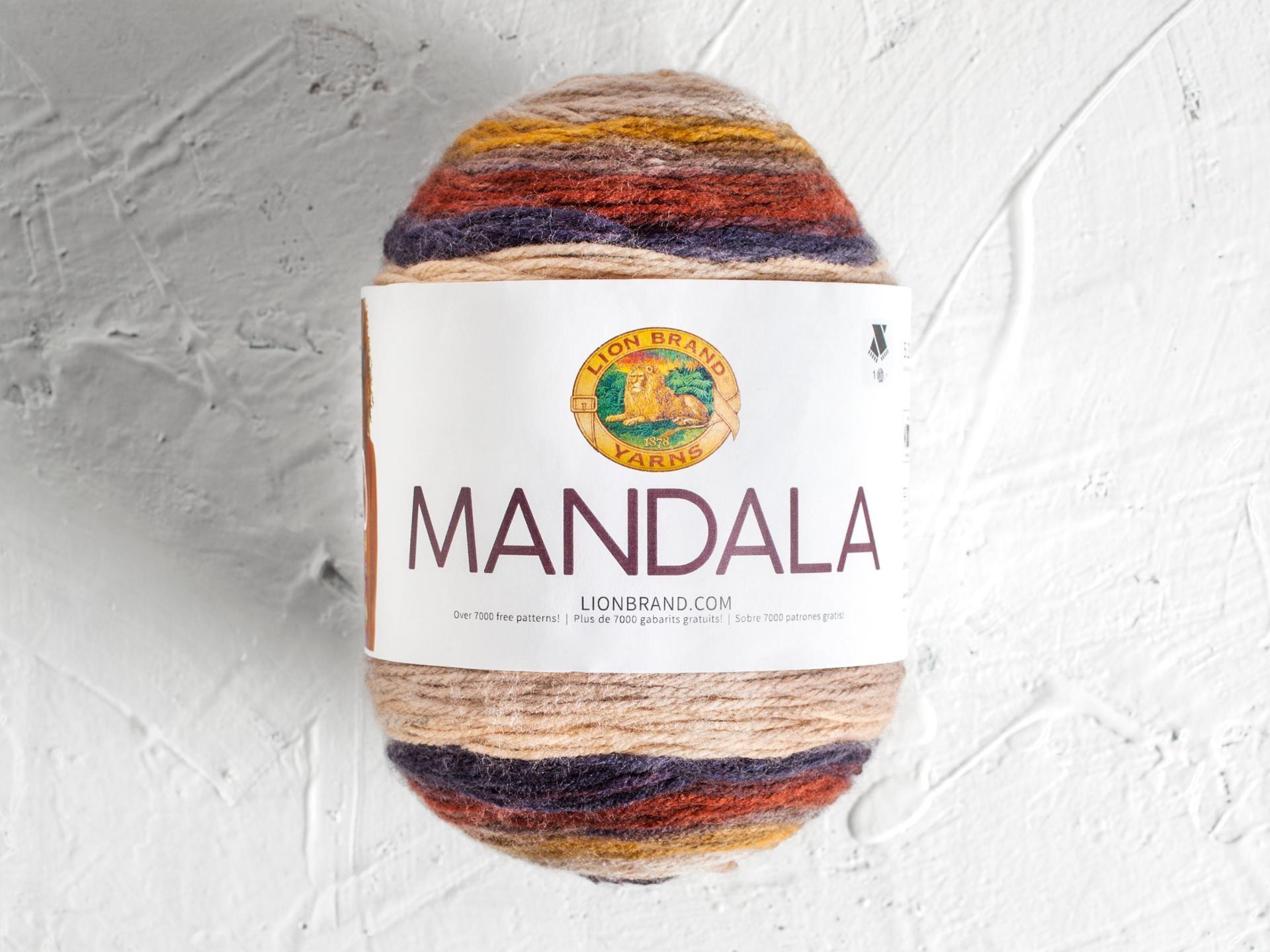 Lion Brand Mandala Yarn   Mandala, Yarns and Enchanted