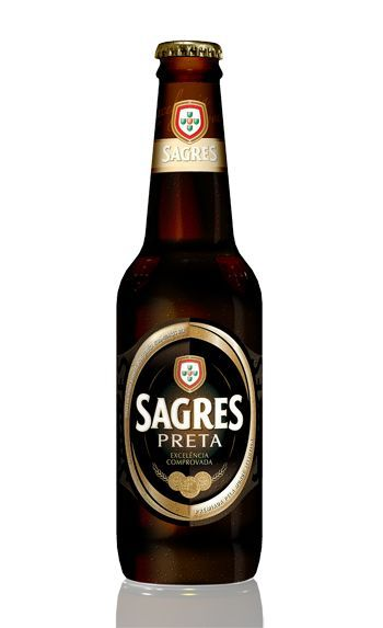 Sagres Black beer - Portugal